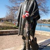 Stevie Ray Vaughan Statue on Lady Bird Lake